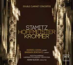 Stamitz, Hoffmeister & Krommer: Double Clarinet Concertos