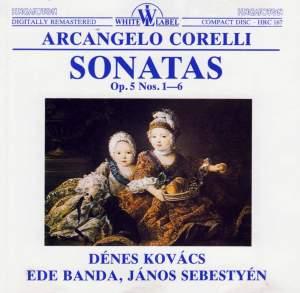 Corelli: Violin Sonata Op. 5 No. 1 in D major, etc. Product Image