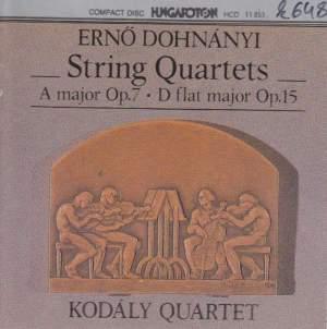 Dohnányi - String Quartets Nos. 1 & 2