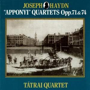 Haydn: Apponyi Quartets (Opp. 71 & 74)