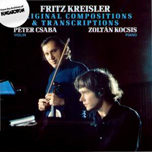 Fritz Kreisler: Original Compositions & Transcriptions Product Image