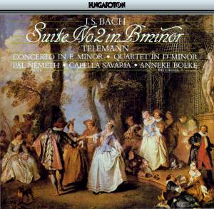 JS Bach: Suite No. 2 in B minor & Telemann: Concerto in E Minor & Quartetto in D Minor