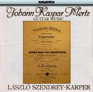 Johann Kaspar Mertz: Guitar Music