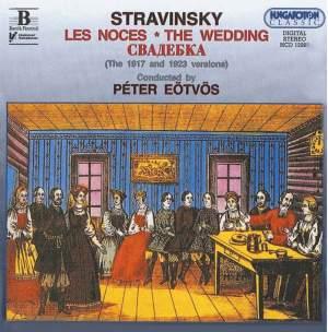 Stravinsky: Les Noces, etc. Product Image