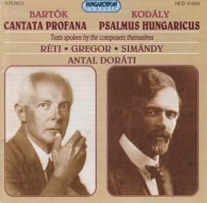 Bartók: The Nine Enchanted Stags & Kodály: Psalmus hungaricus