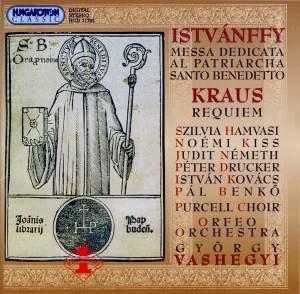 Istvánffy: Messa dedicata al Patriacho San Benedetto, etc.