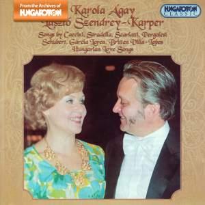 Karola Ágay & László Szendrey-Karper perform Love Songs