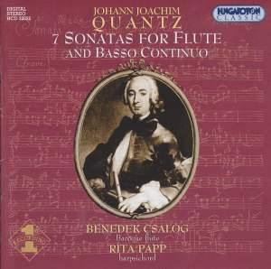 Quantz: 7 Sonatas for Flute and Basso Continuo