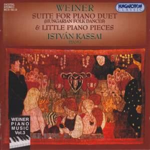 Weiner Piano Music Vol. 3