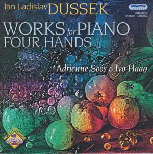 Dussek: Works for Piano Four Hands