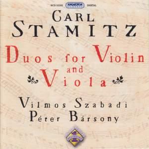 C Stamitz: Duos for Violin and Viola, Vol. 1