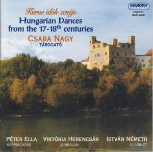 Hungarian Dances from the 17th-18th centuries