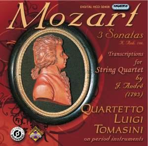 Mozart: Transcriptions for String Quartet