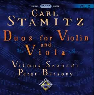 Stamitz: Duos for Violin and Viola (Vol. 2)