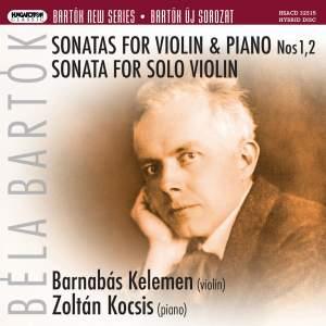 Bartók: Violin Sonatas Nos. 1 & 2, Sonata for Solo Violin
