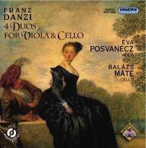 Franz Danzi: 4 Duos For Viola & Cello