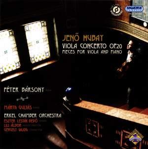 Jeno Hubay: Complete Works for Viola
