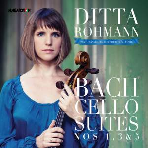 JS Bach: Cello Suites Nos. 1, 3 & 5 Product Image