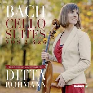 JS Bach: Cello Suites Nos. 2, 4 & 6 Product Image