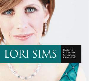Lori Sims plays Beethoven, Robert & Clara Schumann and Rachmaninoff