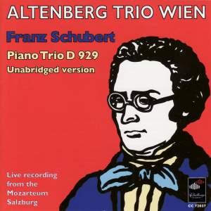Schubert: Piano Trio D 929