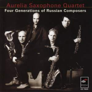 Four Generations of Russian Composers Product Image