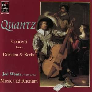 Quantz: Concerti from Dresden & Berlin