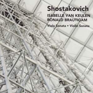 Shostakovich: Violin Sonata, Op. 134, etc.