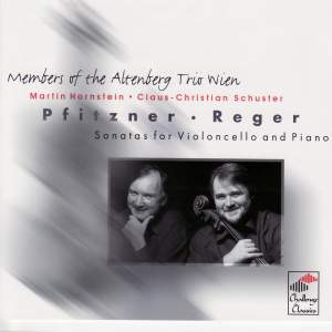 Pfitzner / Reger: Sonatas for Violoncello and Piano