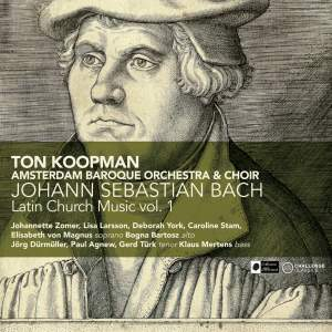 Bach - Latin Church Music Volume 1