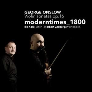 Onslow - Violin Sonatas, Op. 16
