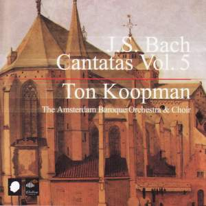 J S Bach - Complete Cantatas Volume 5 Product Image