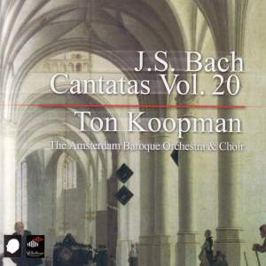 J S Bach - Complete Cantatas Volume 20 Product Image