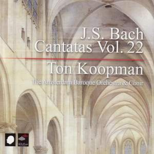 J S Bach - Complete Cantatas Volume 22 Product Image