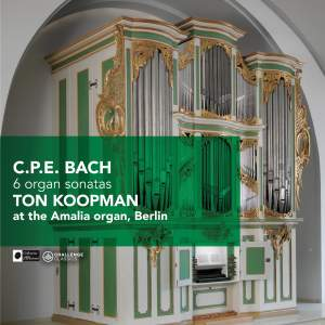 CPE Bach: 6 Organ Sonatas
