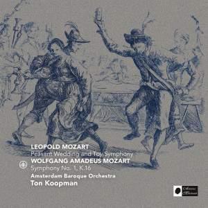 Leopold Mozart & Wolfgang Amadeus Mozart Product Image