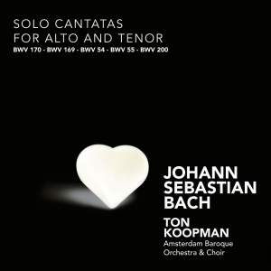 J S Bach - Solo Cantatas for Alto & Tenor