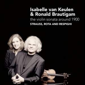R. Strauss, Rota & Respighi - Violin Sonatas