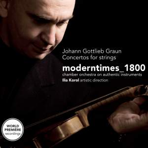 Johann Gottlieb Graun - Concertos for Strings