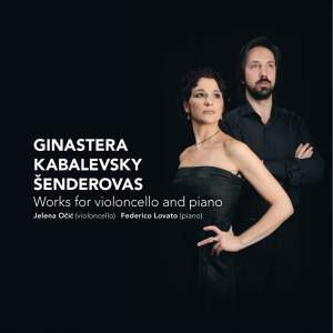 Ginastera, Kabalevsky & Šenderovas - Works for Violoncello and Piano