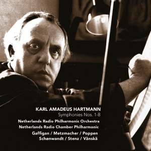 Hartmann, K: Symphonies Nos. 1-8