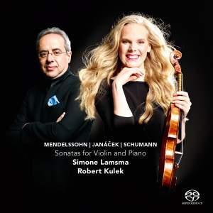 Mendelssohn, Janacek & Schumann - Sonatas for Violin and Piano