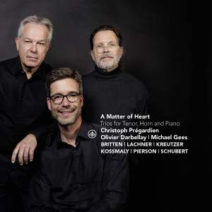 A Matter of Heart: Trios for Tenor, Horn and Piano
