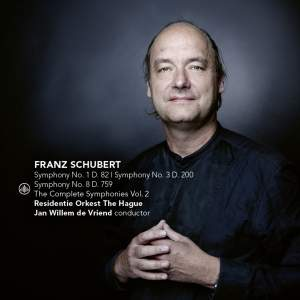Schubert: Symphonies Nos. 1, 3 & 8 'Unfinished' Product Image