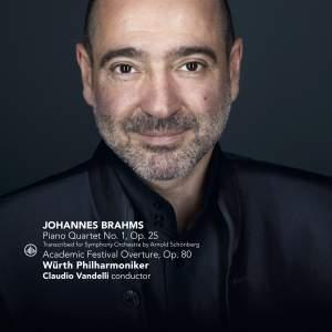 Brahms: Piano Quartet No. 1 & Academic Festival Overture