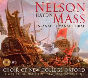 "HAYDN, J.: Mass No. 11, ""Nelsonmesse"" (Ward, Cutting, Pritchard, Edwards, Oxford New College Choir, New Century Baroque, Higginbottom)"