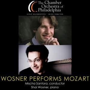 MOZART, W.A.: Piano Concerto No. 9 / HAYDN, J.: Symphony No. 86 (Wosner, Chamber Orchestra of Philadelphia, Santora)