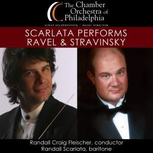 Scarlata Performs Ravel & Stravinsky