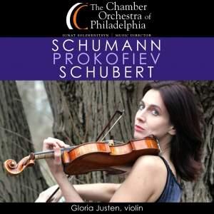 Schumann, Schubert & Prokofiev