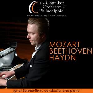 BEETHOVEN, L. van: Piano Concerto No. 3 / HAYDN, J.: Symphony No. 99 (Solzhenitsyn, Chamber Orchestra of Philadelphia)